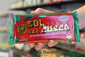 Chocolate sol del Cuzco, 90g