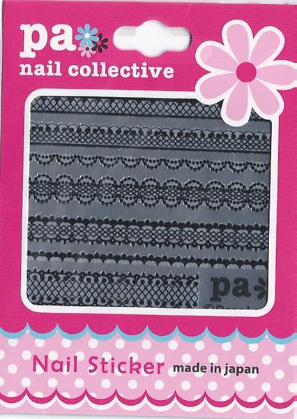 DL- PA Sticker Black Lace