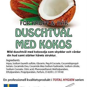 Total Duschtvål med kokos