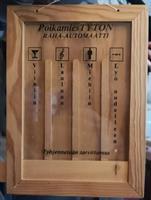 Raha-automaatti, taulu