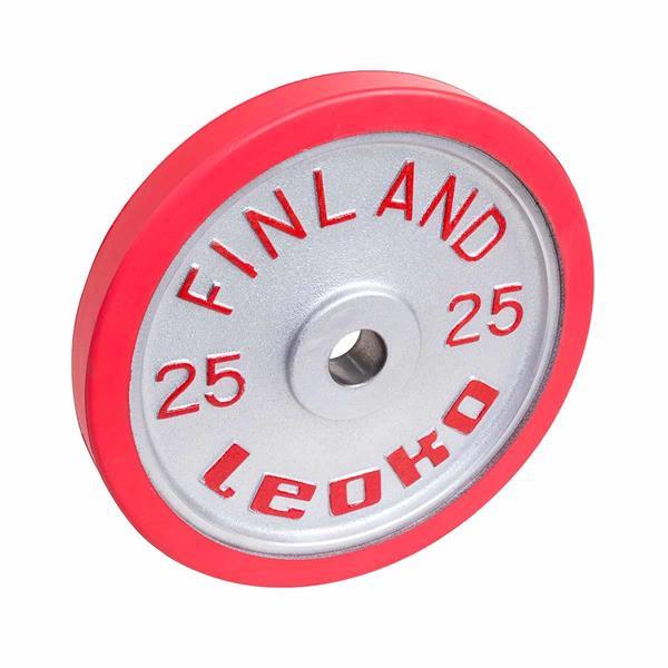 Leoko VL skive kalibrert 25kg Rød