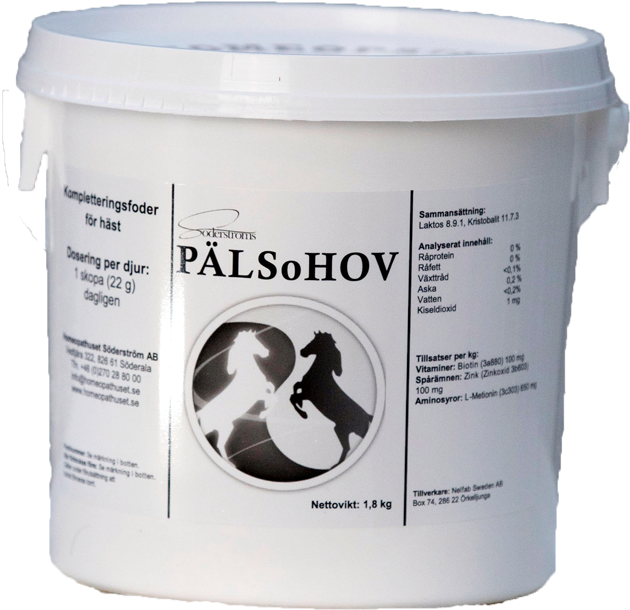Päls & Hov 1,8kg 30% rabatt