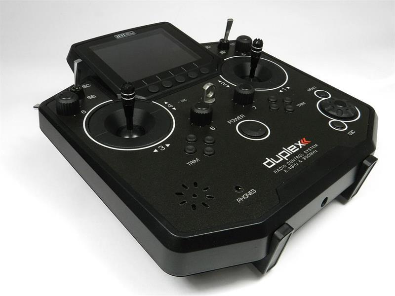 Jeti Duplex DS-12 EX Lähetin Multimode Musta