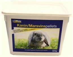 Kanin/Marsvinpellets 3,5kg