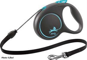 flexi Black Design rep S 5m blå
