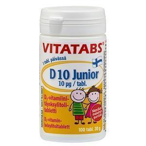 D-Vitamin junior 100 tabl