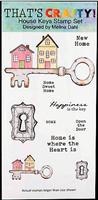 DL Clear stamp set House Keys