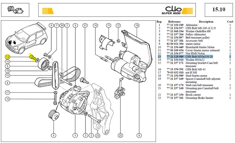 VIS CHCM10L20   CL:12-9 PAS 150