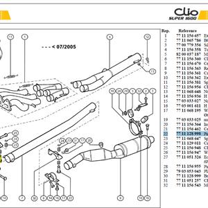 BOBINETTE SUPP ECHAPPEMENT - Pin-Mounting-Catalyser