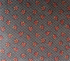 Småblader på brun bunn