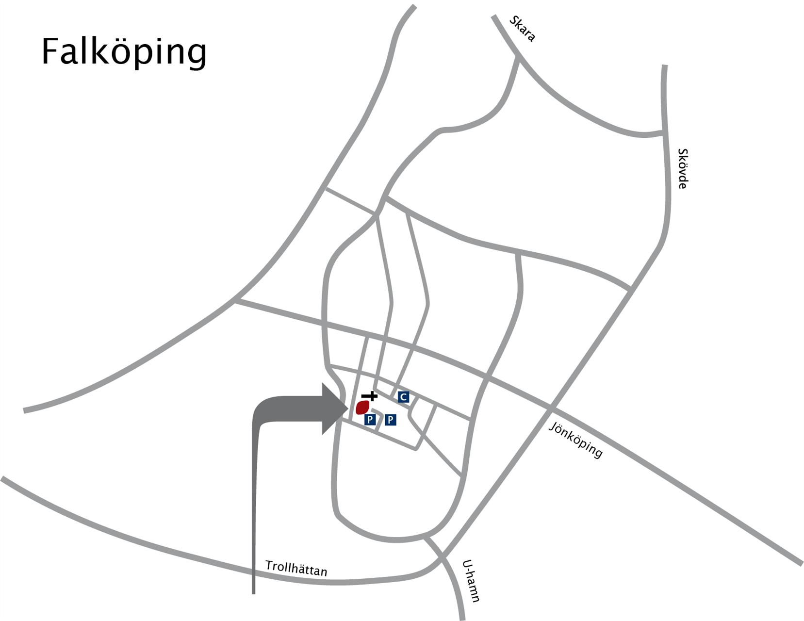 Prästgårdsgatan 16, Falköping