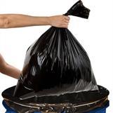 Lägg säckarna direkt i säckpressen