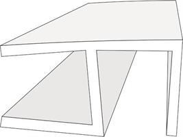Hörnlist för 2x8mm glas, 240cm