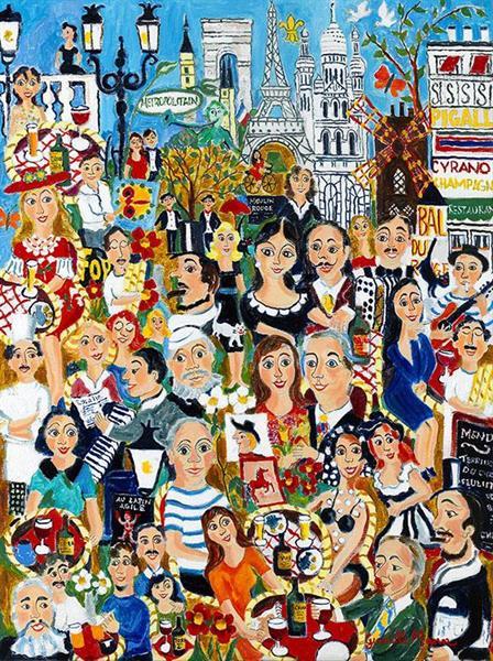Konstnärsliv i Paris