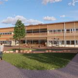 Nybyggnation Släbro förskola i Oppeby, Nyköping