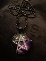 Pentagram star, kaulakoru
