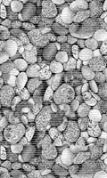 Aquamat 65cm Stones Grå