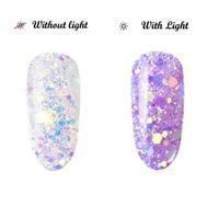 BL- Light change glitter #1