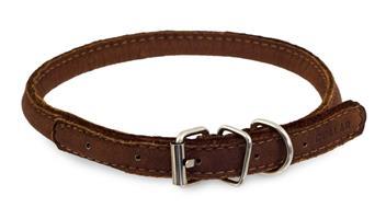 Collar rundsydd halsbånd, 25-33cm