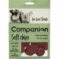 Companion Soft Chips Oxe & Oxhjärta 80g