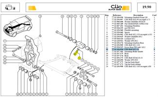 VIS CHC 12X175 LG:50 CL:12,9 - CHS Bolt M12-50