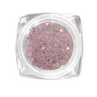KN- Jar Glitter Light PURPLE