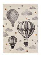Atlas Luftballong Grå/Vit 120*170