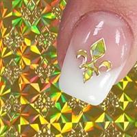 DM- Nail Sticker GOLD