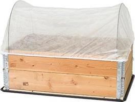 Fiberduk Pallkragebåge 120x80cm