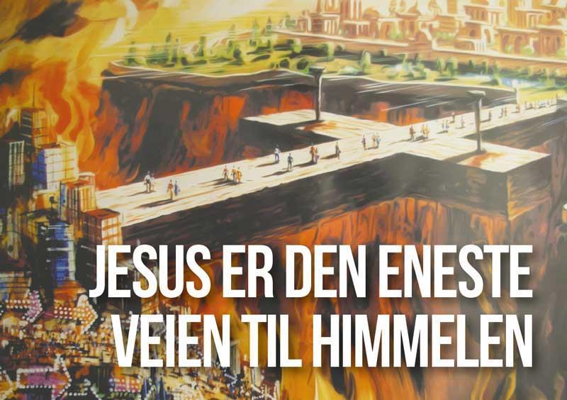 Jesus er veien til Himmelen (A6 - 200 stk)