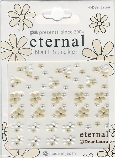 DL- Sticker Flower beige