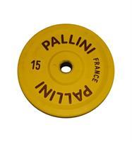Pallini DC150 skive konk VL 15 kg gul