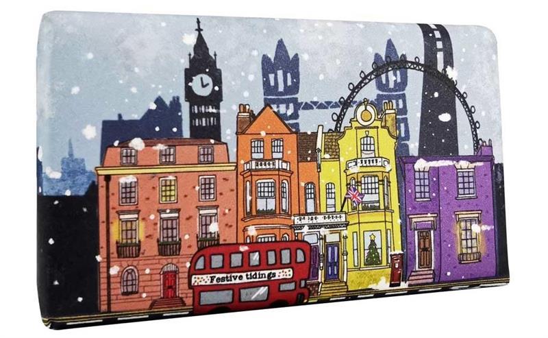 Festive Wrapped Soap London in Winter 200gr