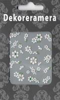 DM- Sticker Flower white