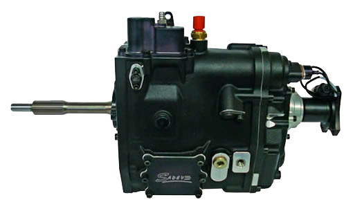 6 Speed short version gearbox SCL82-17 without gear lever