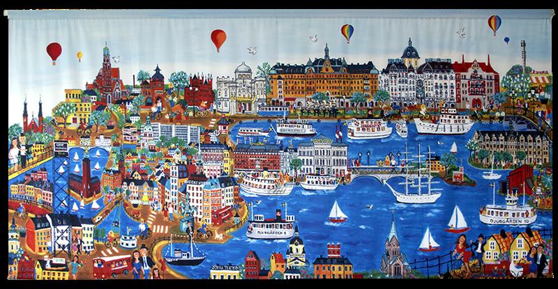 Vårt Hjärtas Stockholm (272x133 cm)