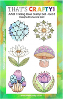 A5 Clear stamp set ATCoins set 8