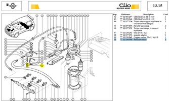 CAPTEUR PRESS HUILE OU ESSENCE - Pressure sensor oil / fuel