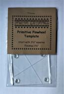 Primitive Pinweel Template