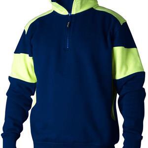 Sweatshirt Halvzip 222