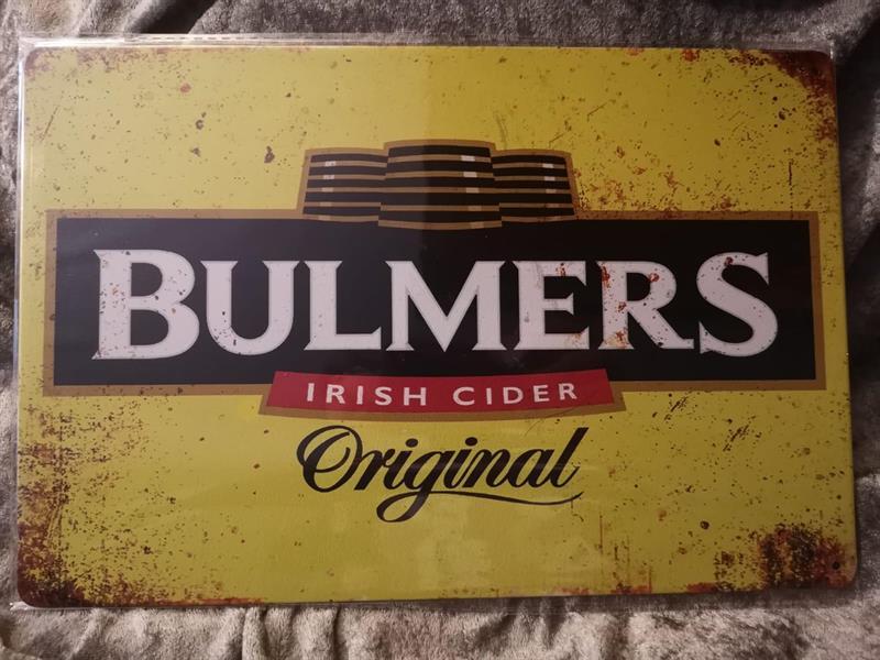 Bulmers, peltitaulu