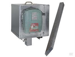 Metallbox låsbar inkl. 100cm jordspett