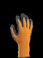 Handske Comfort strl 8 orange/svart