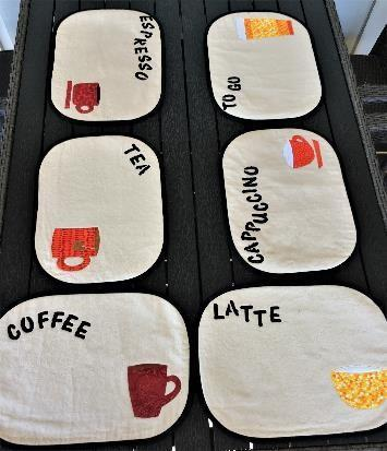 Spisebrikker, Kaffekopper