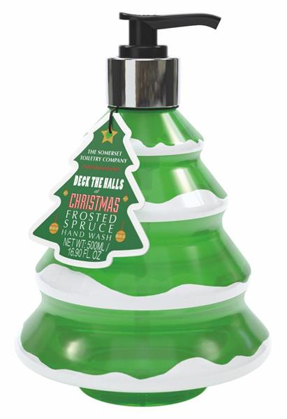 Christmas Tree Shaped Hand Wash  Frosted Spruce 500ml