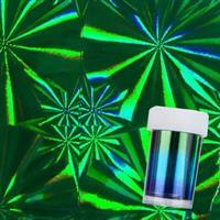 DM- Folie #87- 1 Holo Green