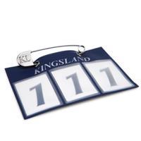 Nummerlapp Kingsland Classic