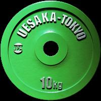 UESAKA IPF skive 10kg Grønn