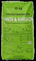 Kanin/Marsvinpellets 10kg grönpapp påse