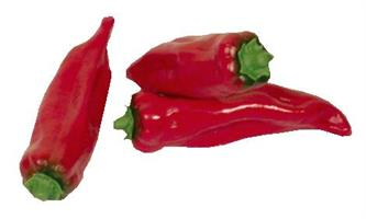 Paprika smal röd 110mm